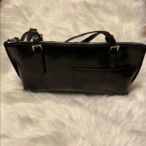 HOBO | Black NWOT Houndstooth Small Tote